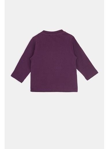 BG Baby Erkek Bebek Açık Mor T-Shirt 20Fw0Bg1524 Lila